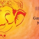 Mantra to Ganesha