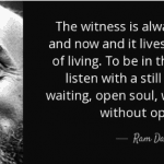 the power of the witness