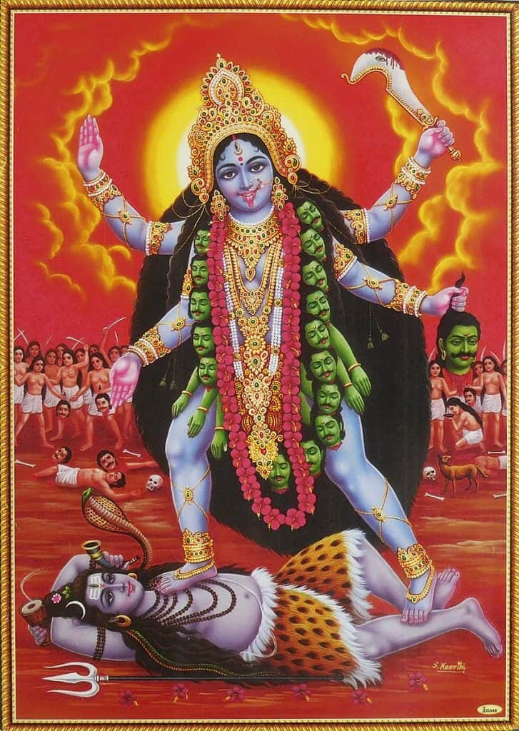 Kali morning thought