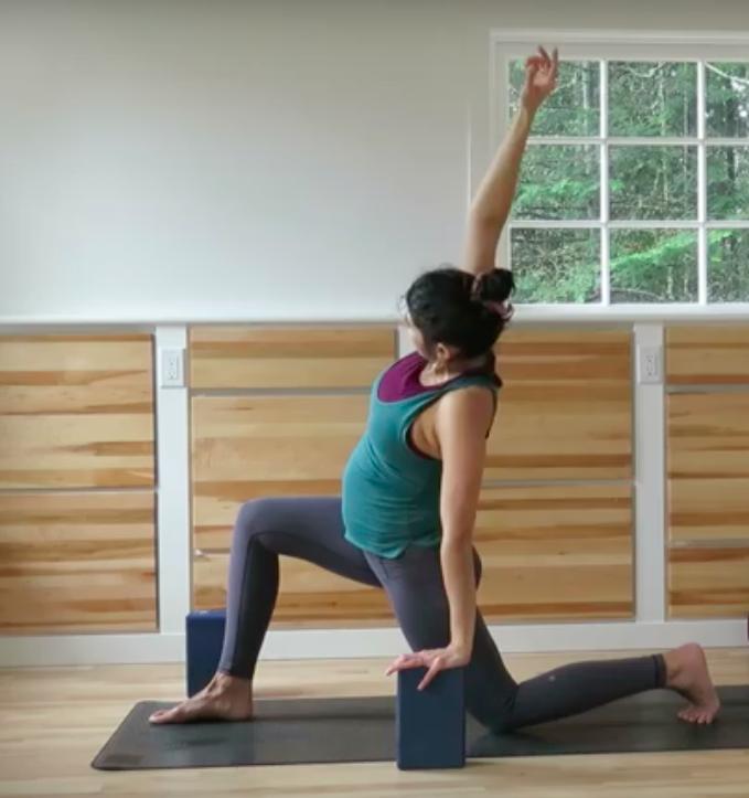 Prenatal yoga image
