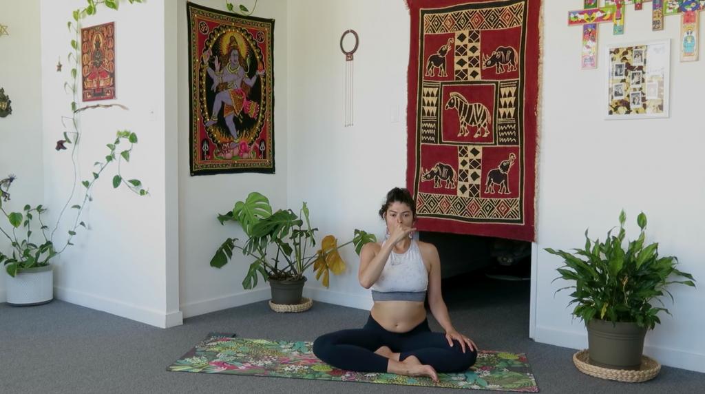 river of prana meditation