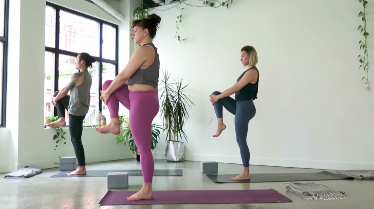 grounded vinyasa