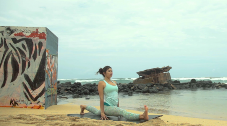 king of the hips vinyasa