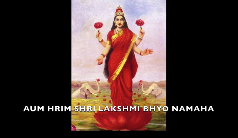 lakshmi mantra meditation