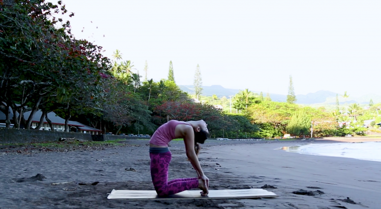 morning quickie vinyasa