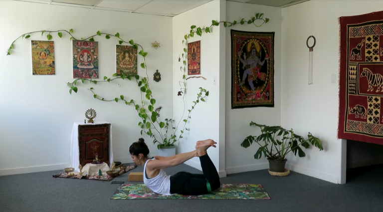 best yoga teacher training online space through strength slow flow