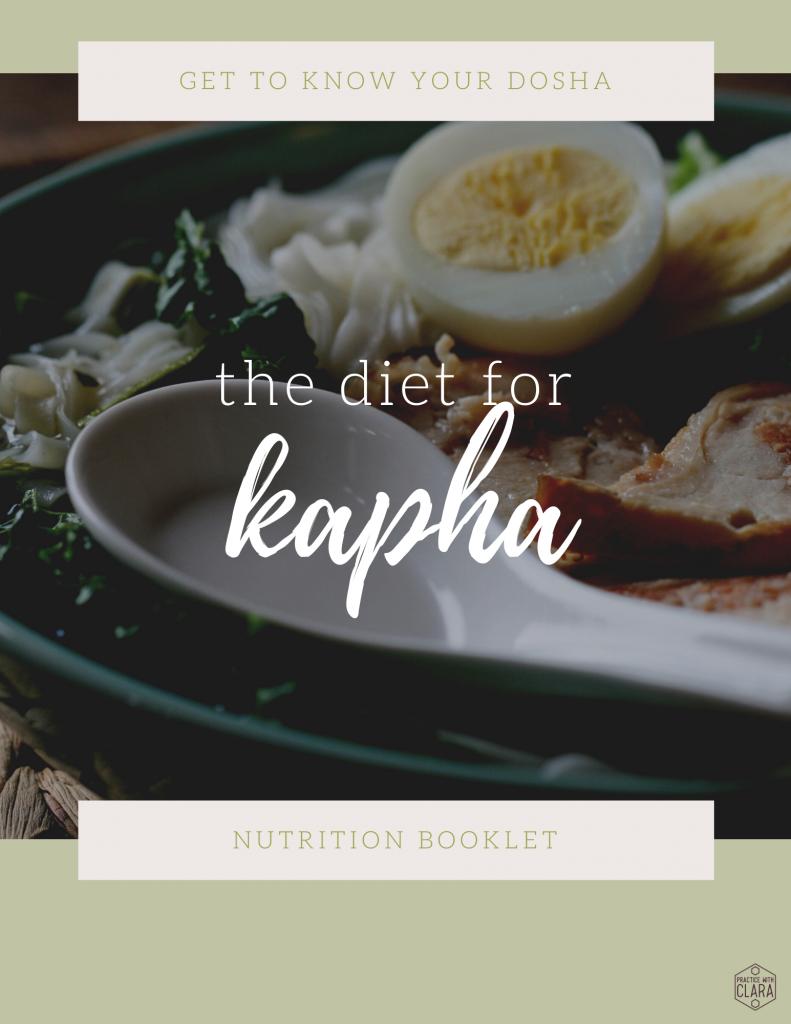 Kapha Ayurveda diet