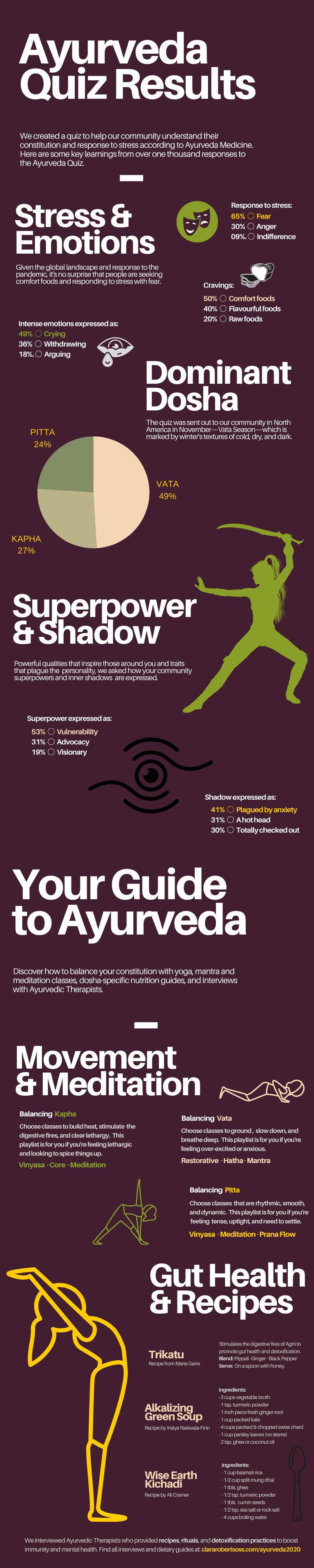 Ayurveda Infographic